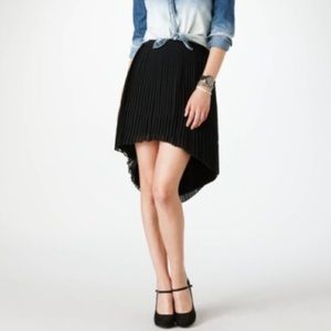 American Eagle Outfitters Black Pleated Sk…